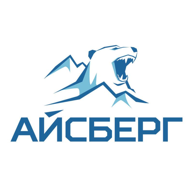Разработка логотипа для ледового тренировочного центра Айсберг (большой размер)