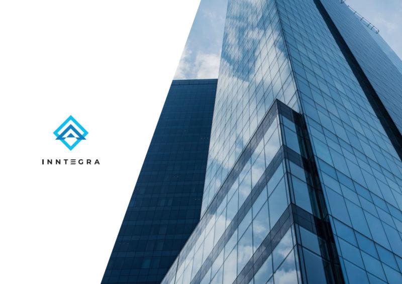 Разработка логотипа и фирменного стиля для компании InnTegra