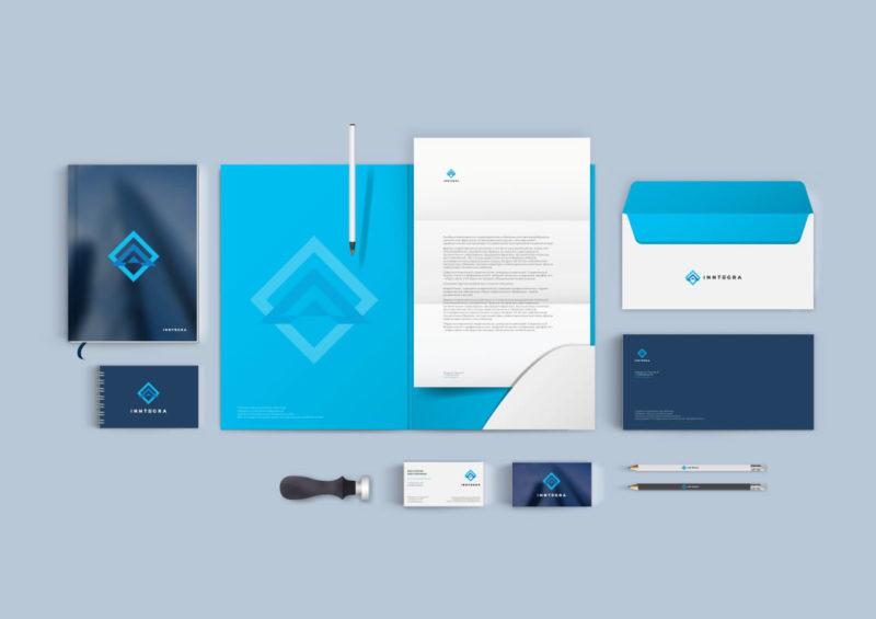 Разработка фирменного стиля для компании InnTegra